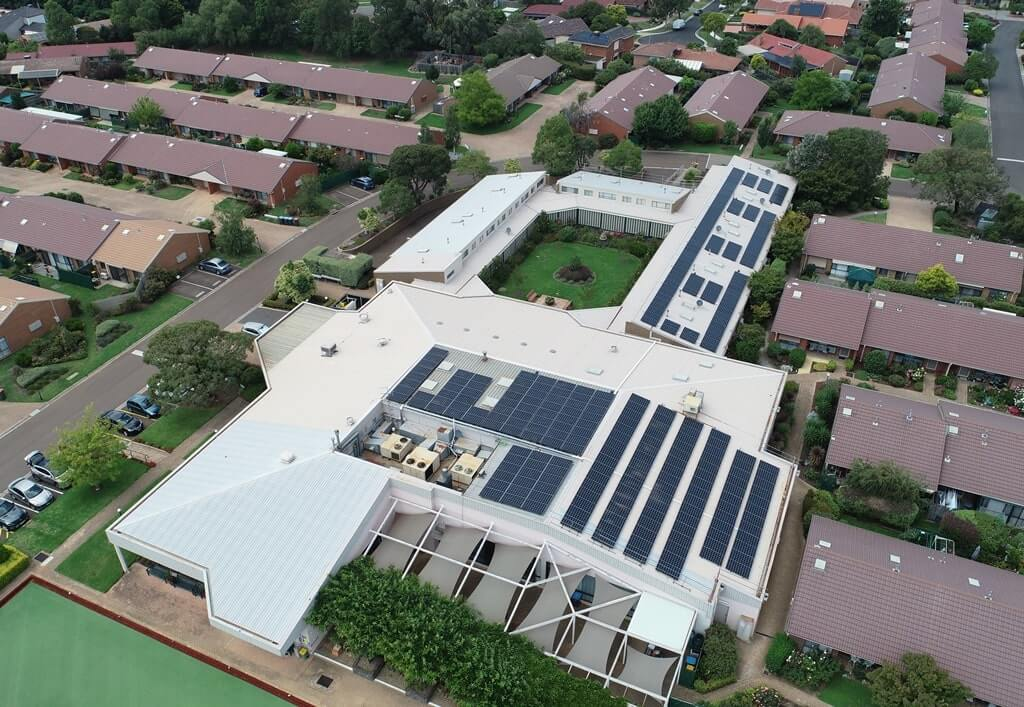 Balmoral Aged Care - LG NeON - 100kW